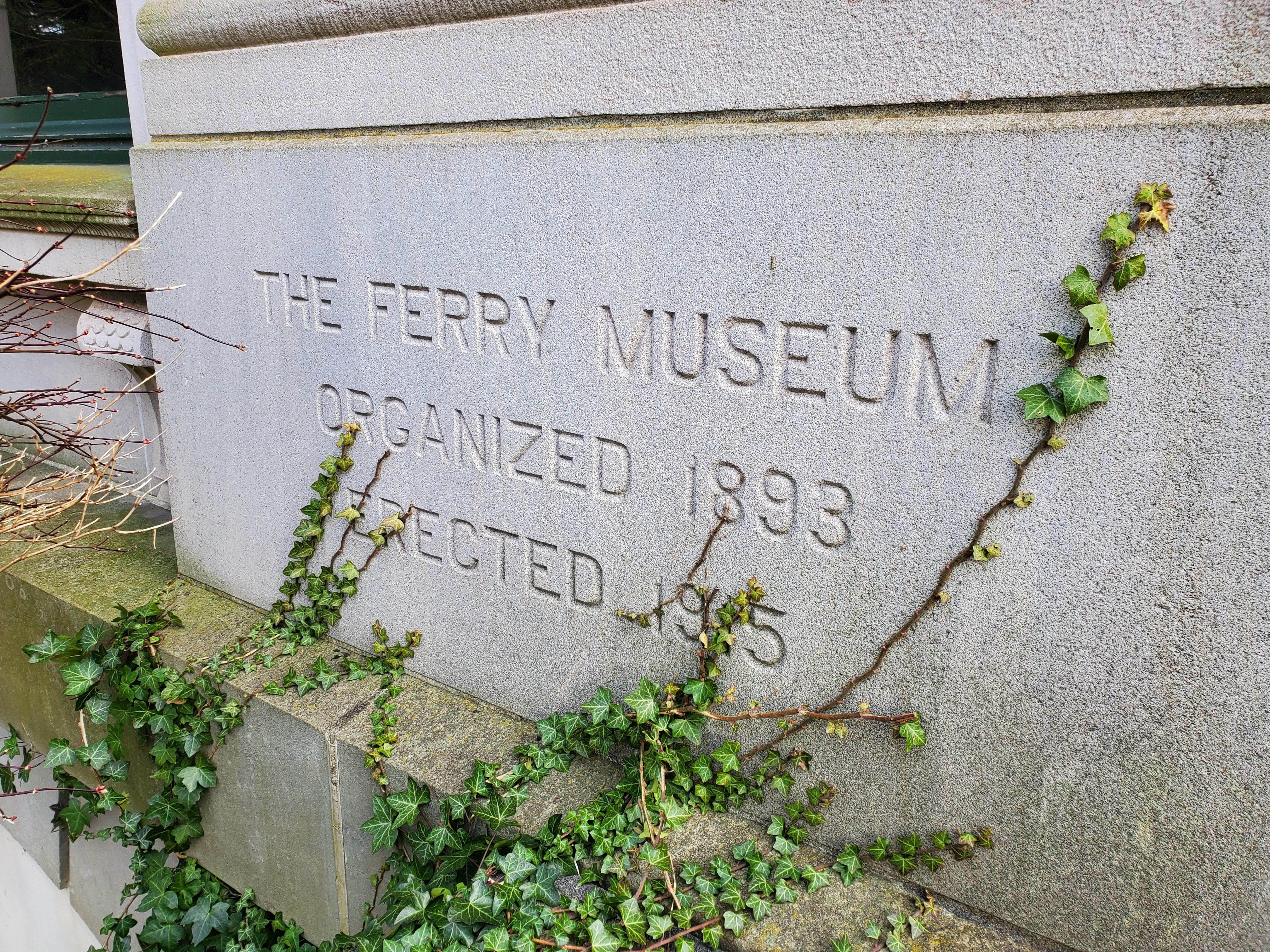 Ferru Museum cornerstone
