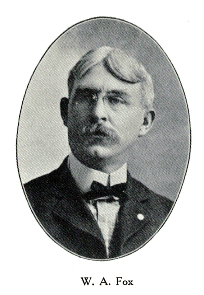 Willoughby A. Fox, ca. 1907