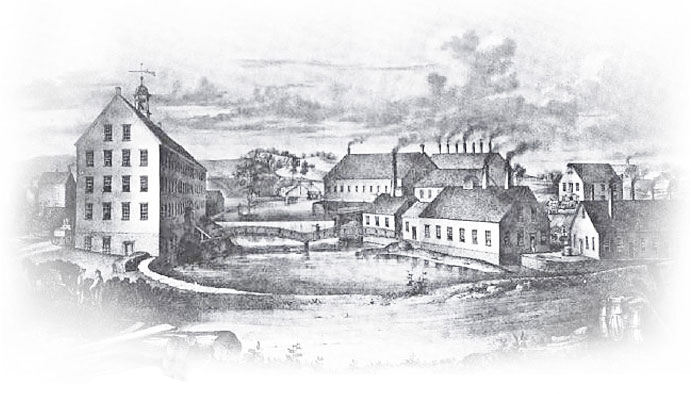 An artist's rendition of the Armory soon after completion.