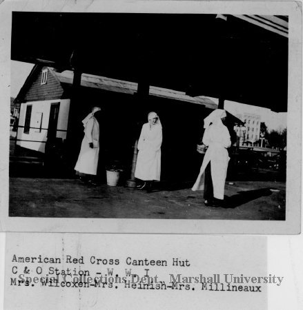 Red Cross Canteen Hut, Huntington