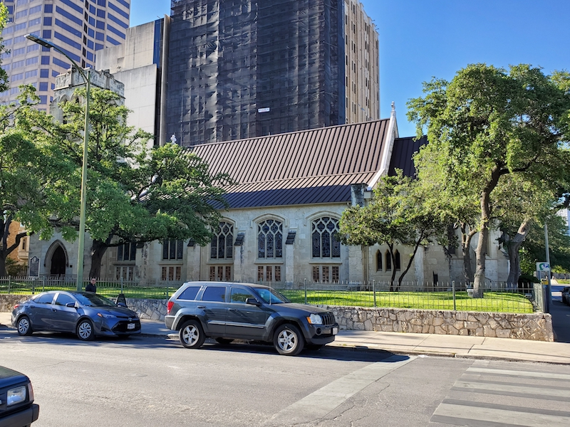 St. Mark's Episcopal Church was built in 1875.