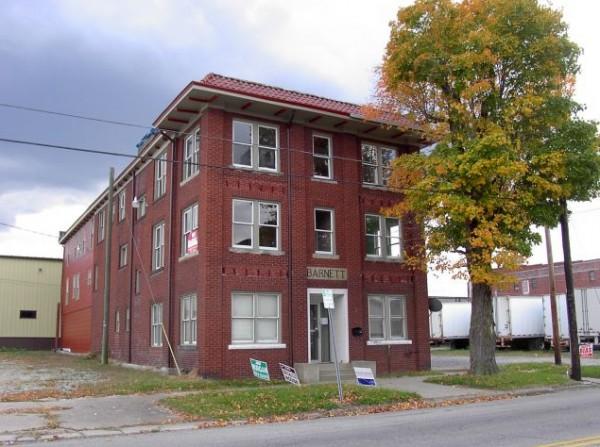 The Barnett Hospital and Nursing School