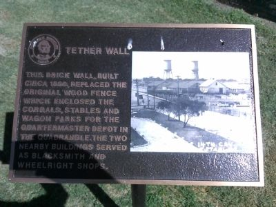 Tether Wall Historical Marker