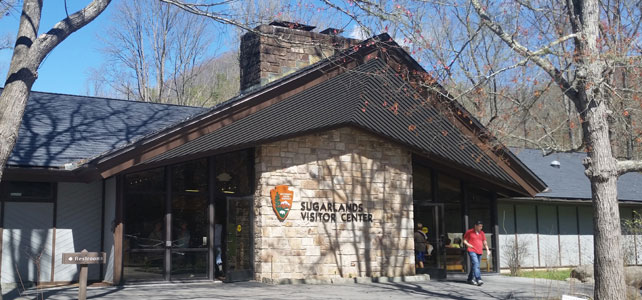 Sugarlands Visitor Center in Gatlinburg