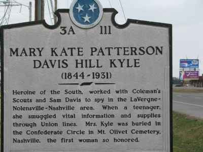 Mary Kyle sign