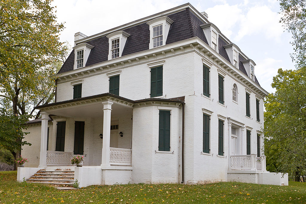 Thomas R. Carskadon House was constructed one year after the end of the Civil War and was added to the National Register of Historic Places in 2002.