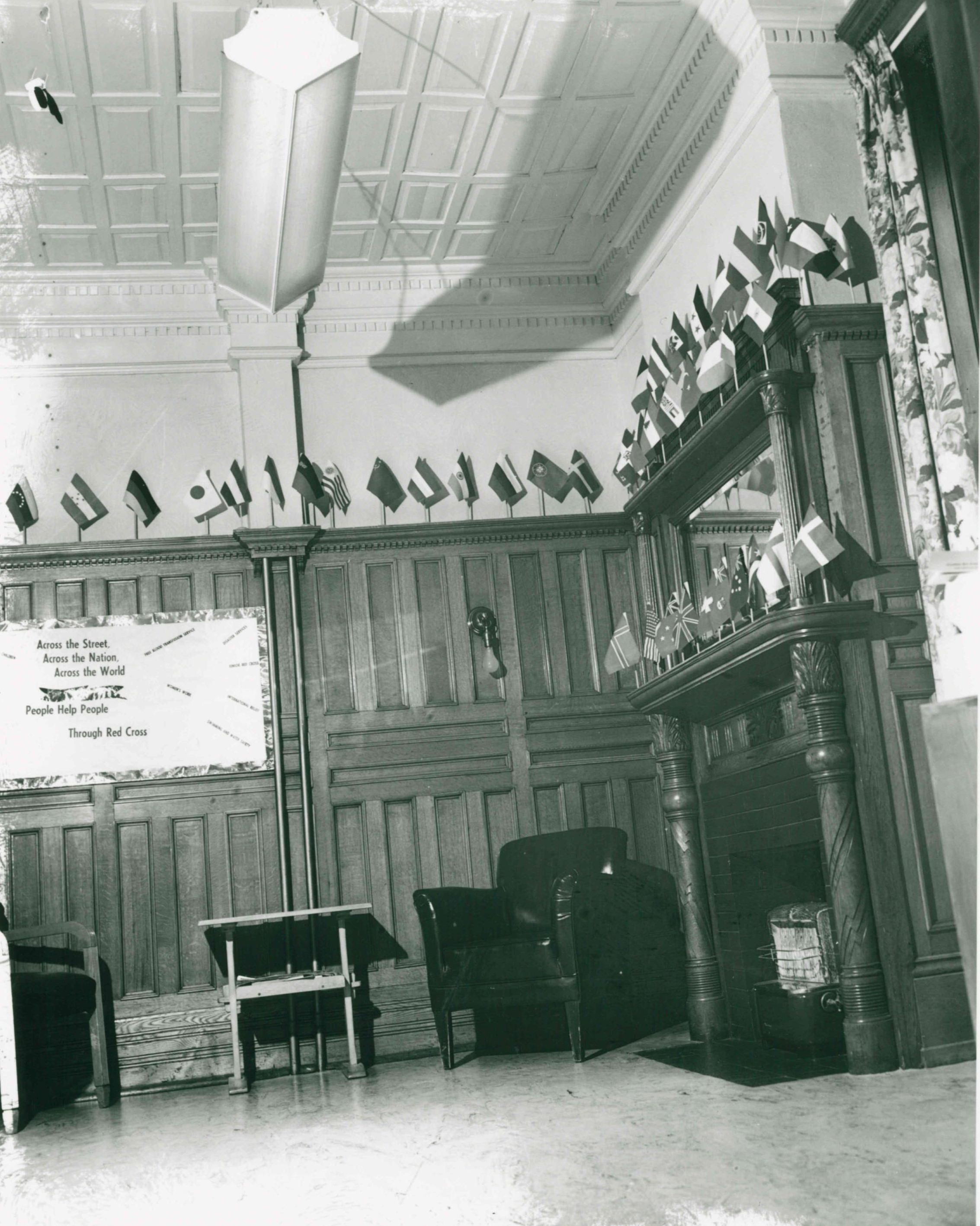 Image 5, Senator's Study during the Red Cross era, c. 1950s