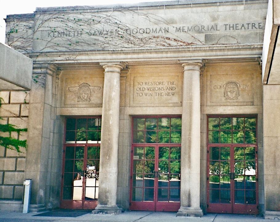 Original Goodman Theatre located in the rear of the Art Institute of Chicago (1925 - 2000)