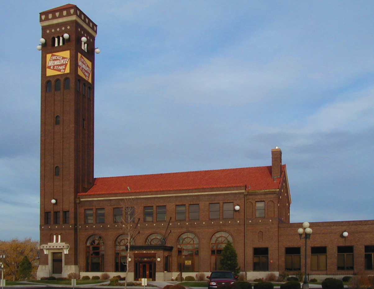 The Chicago, Milwaukee and St. Paul Passenger Depot was erected in 1915. It is one of most recognized landmarks in Great Falls.