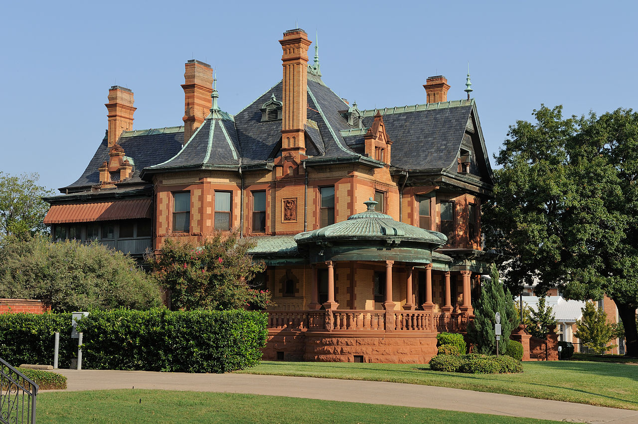 The Ball-Eddleman–McFarland House was built in 1899. It is one of the finest homes in Fort Worth.