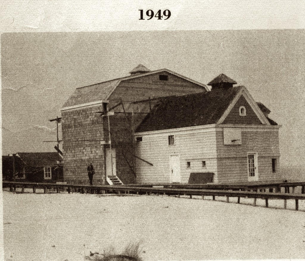 The community house and theatre in 1949.