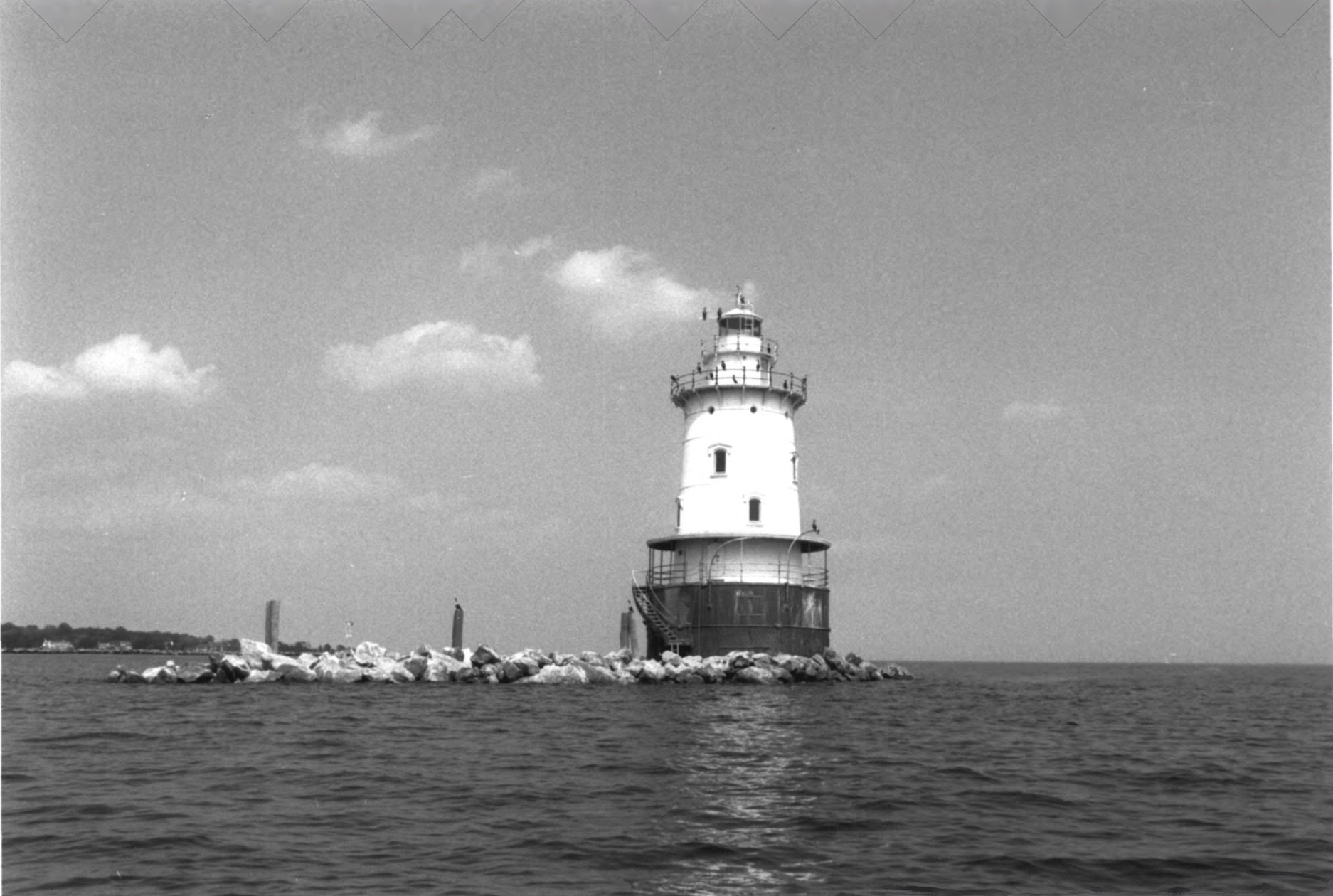 Wide Shot of the Lighthouse
