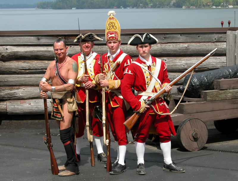 Fort William Henry soldiers.
