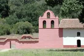 The campanario of La Purisima. La Purisima is the only mission not designed in a quadrangle, having been rebuilt after 1812 with a linear structure to protect from further earthquakes.