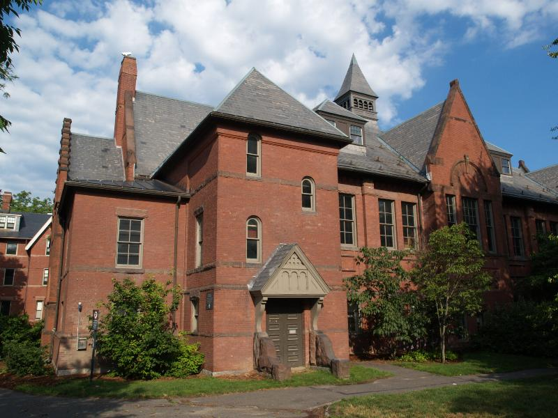 This is Alumnae Gymnasium in 2012. http://www.cambridge2000.com/gallery/html/P71621328e.html