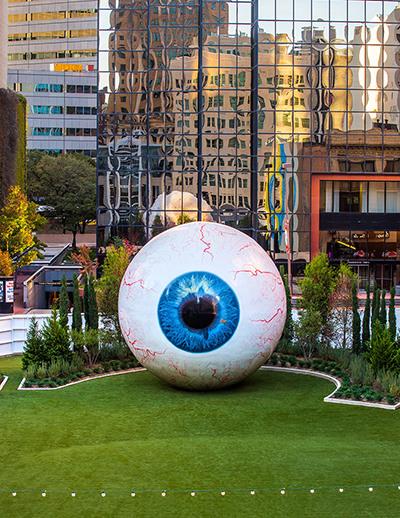 Tony Tasset, Eye, 2010.