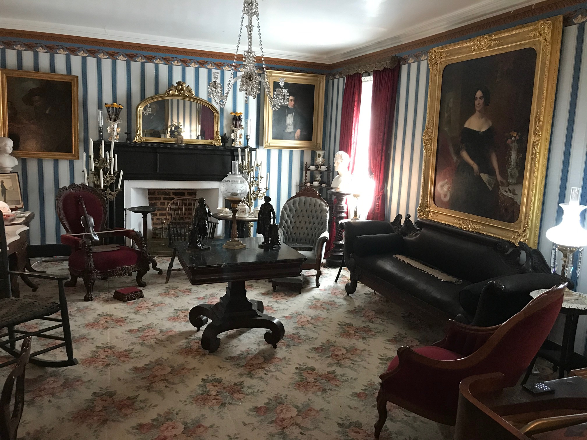 Parlor at Fort Hill