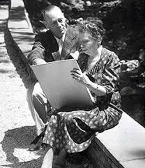 Frank Carrington and Antoinette Scudder.