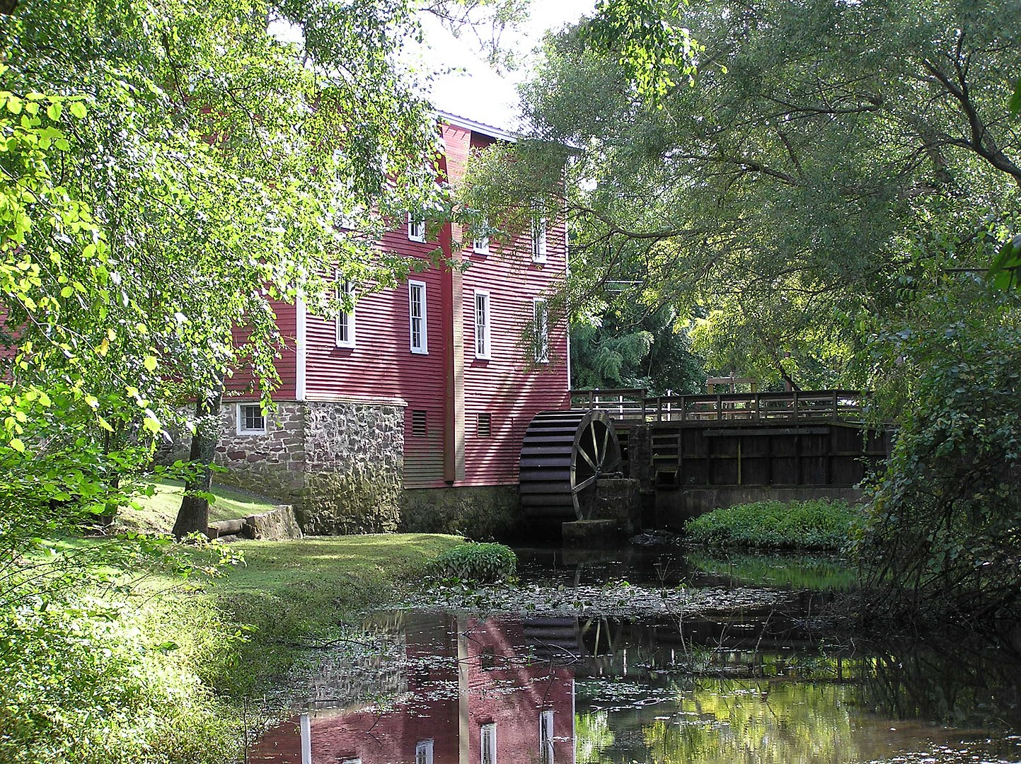 Kirby's Mill, formerly Haines 1 Mill, now operated by the Medford Historical Society.