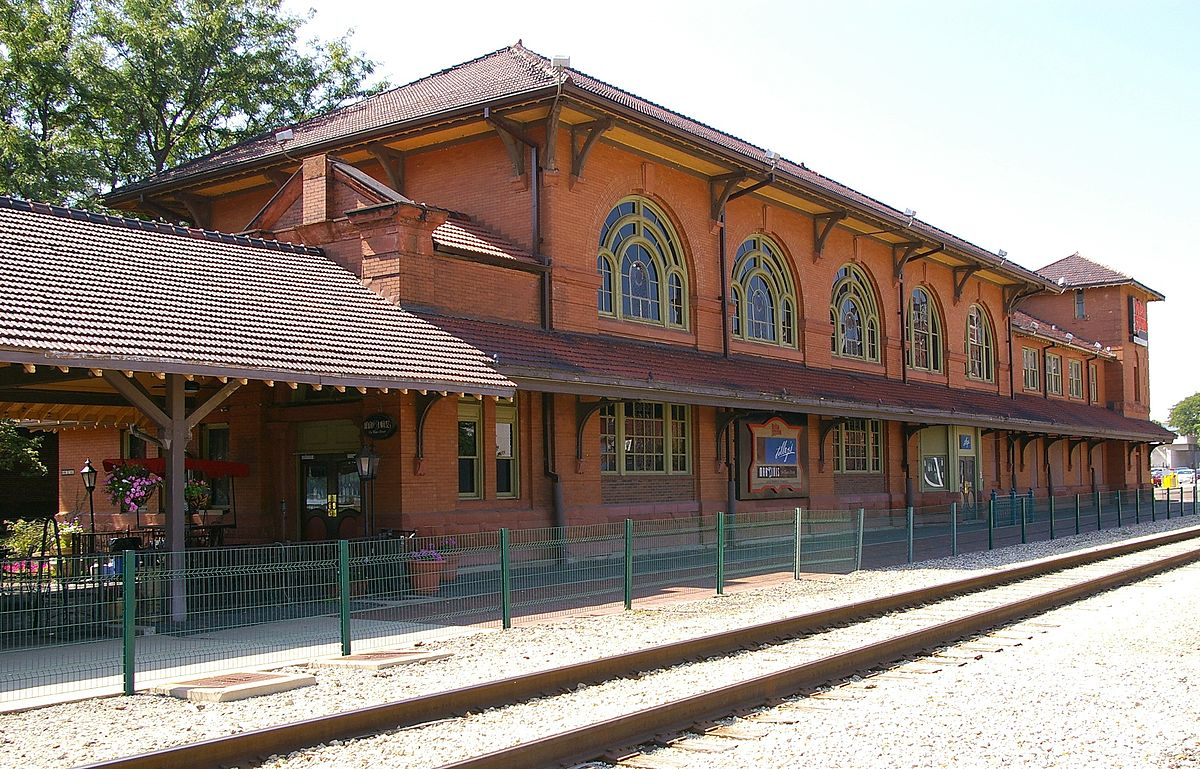 Rock Island Depot and Fright House (Peoria, IL)