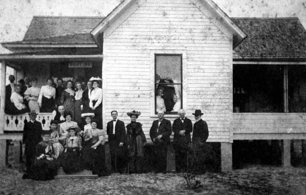 Drift Inn- Whist players, 1904.