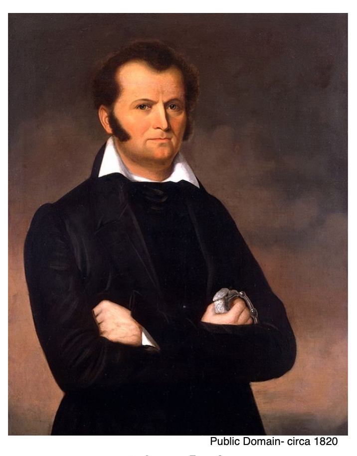 This is a picture of James Bowie.