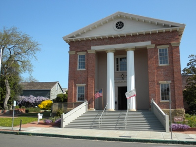 Exterior of the Benicia Capitol Building