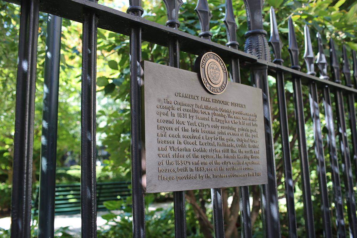 Gate at Gramercy Park