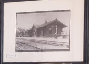 Frisco Train Depot -circa 1903-
