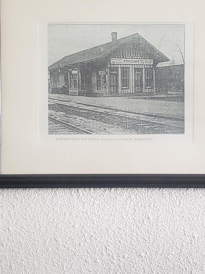 Kansas City Southern Railroad Depot, Ashdown.