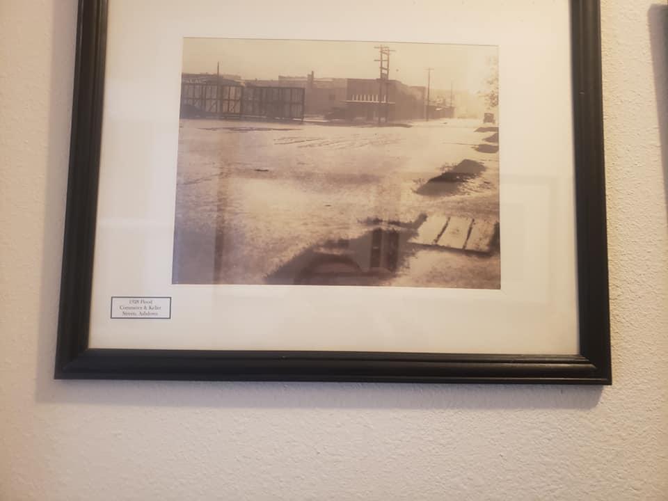 1928 Flood. Commerce & Keller Streets, Ashdown