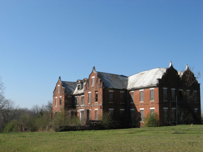 Catherine Hall in present shape. This was one of the earliest buildings of the Mississippi Industrial College