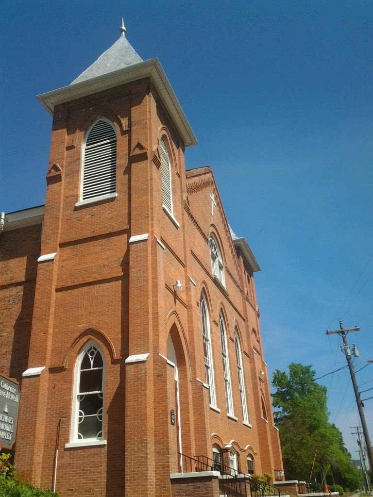 Photograph of Evans Metropolitan AME Zion Church.