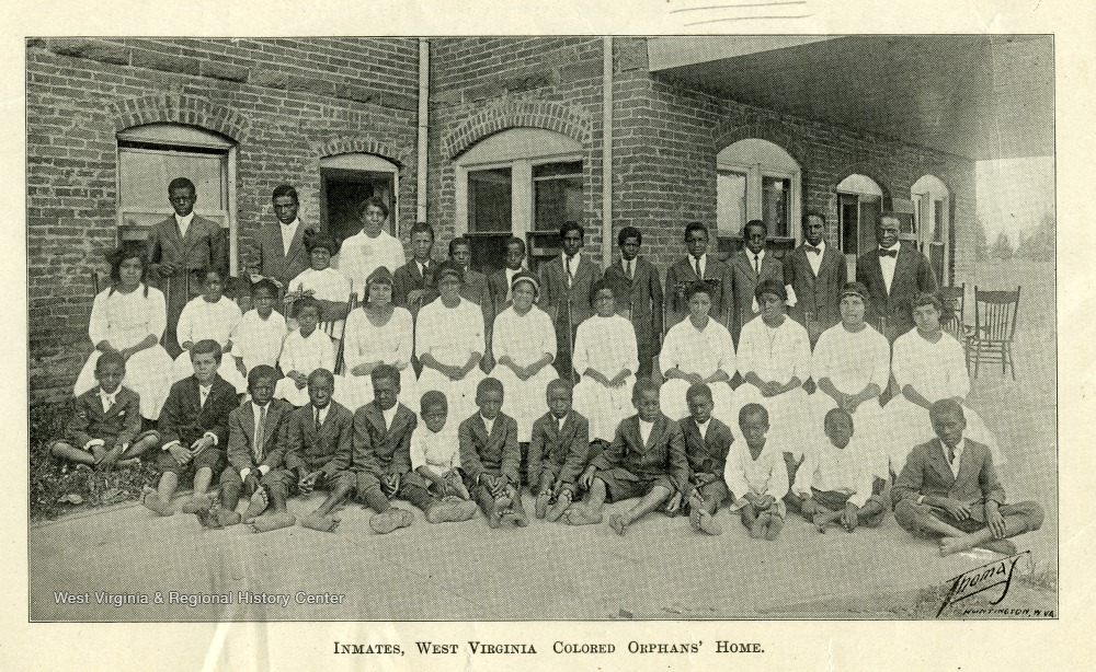 Residents of the West Virginia Colored Orphan's Home