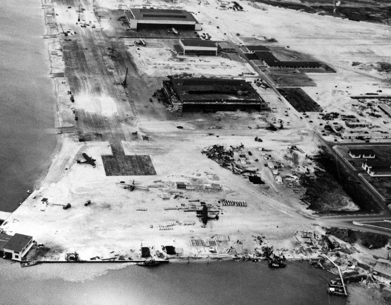 Naval Air Station two days after the attack on 9 December 1941.