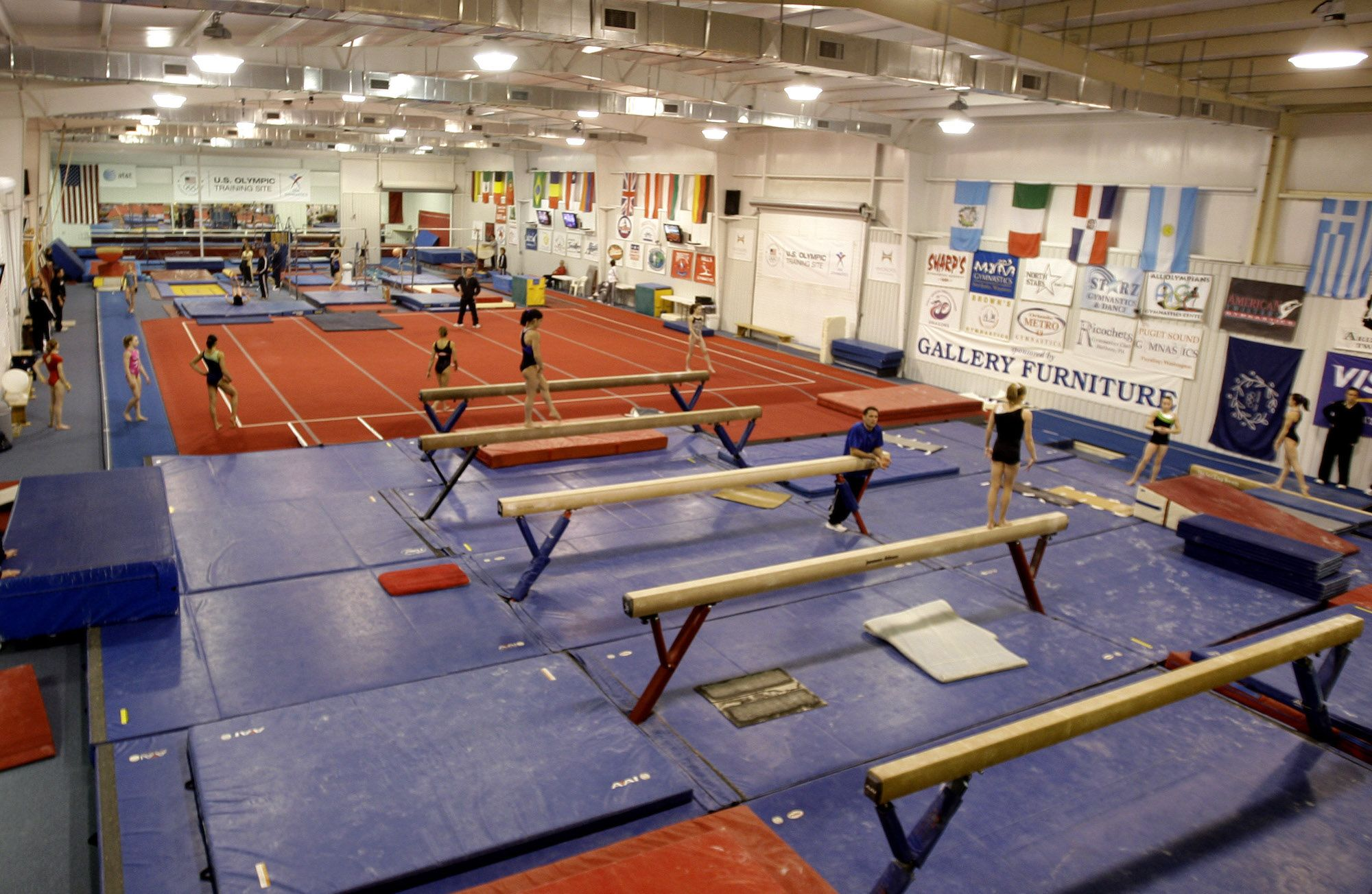 An overview of the inside of the facility