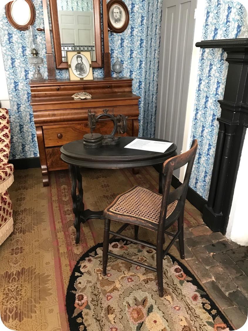 The sewing machine belonged to Anna Maria Calhoun Clemson