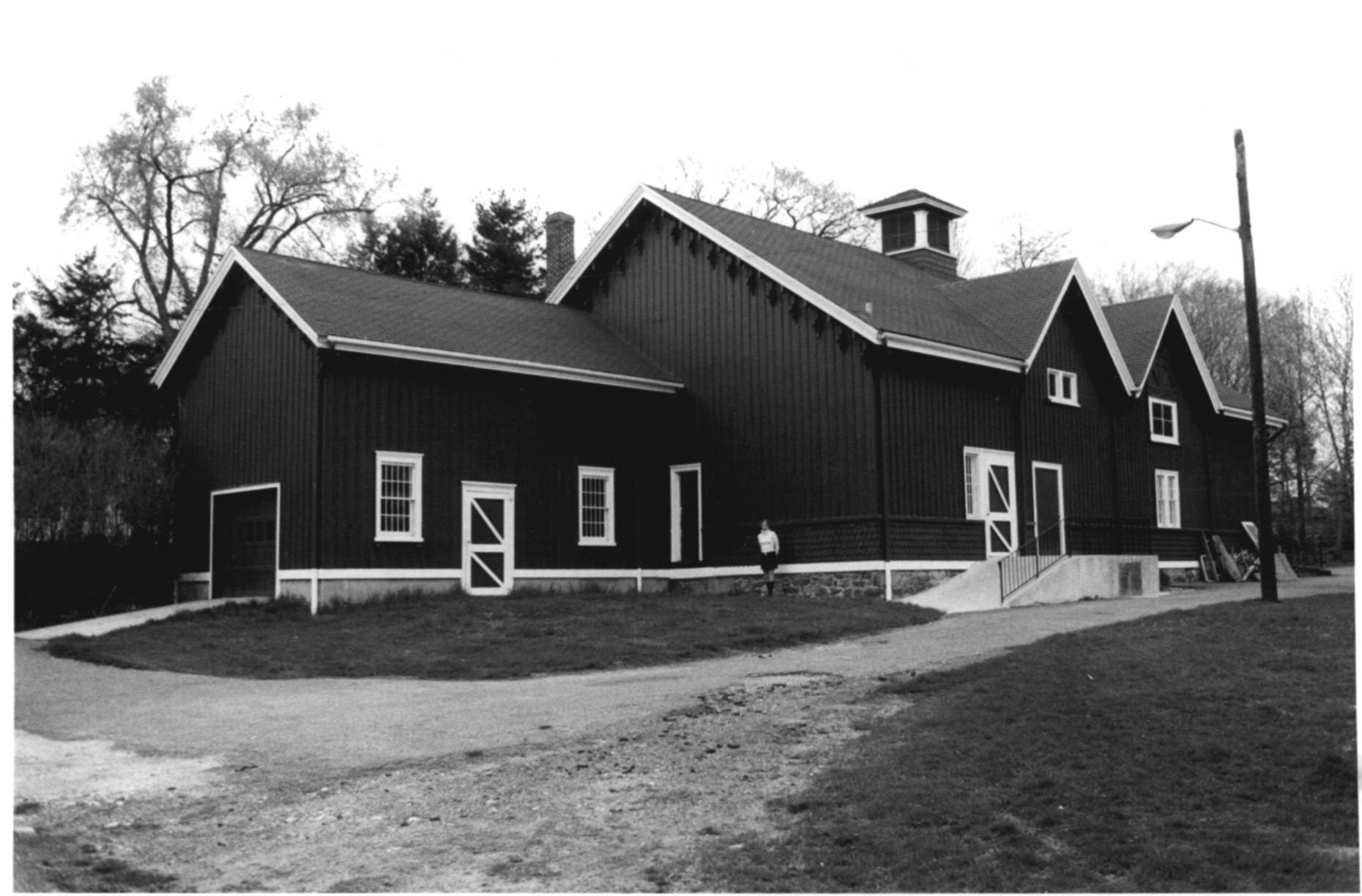 Southwest Side of the CJ Starr Barn in 1979 by Steven H. Hirschberg as Recorded on the National Park Service National Register of Historic Places