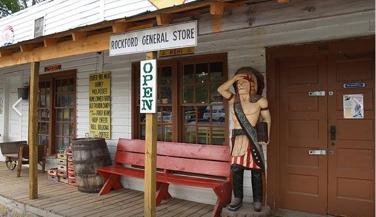 Entrance to the general store.