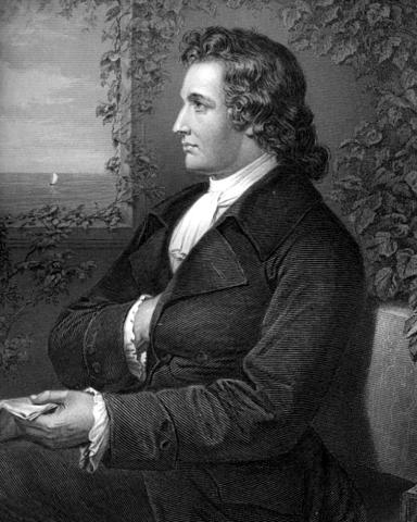Goethe in 1775