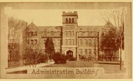 1929 Murmurmontis photo of the Administration Building