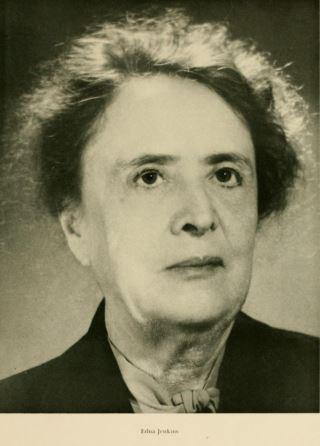 Edna Jenkins (Sem. 1902). Trustee 1943-1956 Alumni Service and Achievement Award, 1950