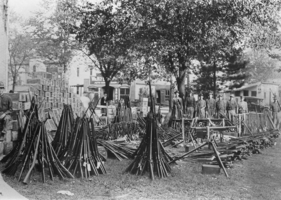 Gathered rifles and other material from strike (1912)