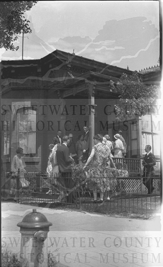 Gaensslen House ca. 1920