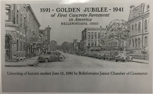 In 1941, Bellefontaine celebrated the 50th anniversary of the historic street.