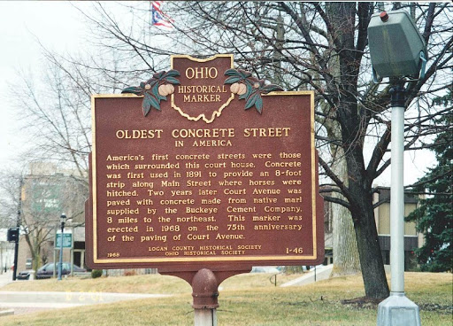 In 1968, an Ohio Historical Marker was installed nearby.