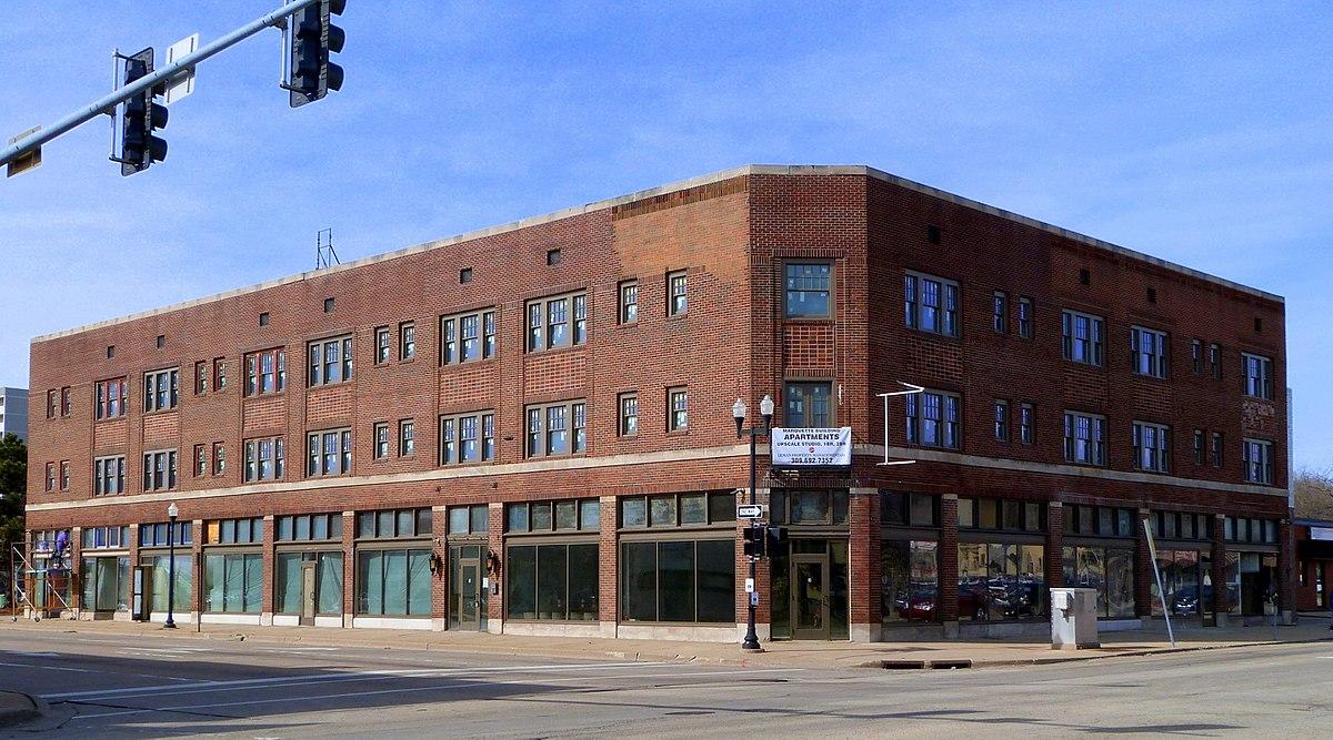 Marquette Apartments, Peoria, IL.