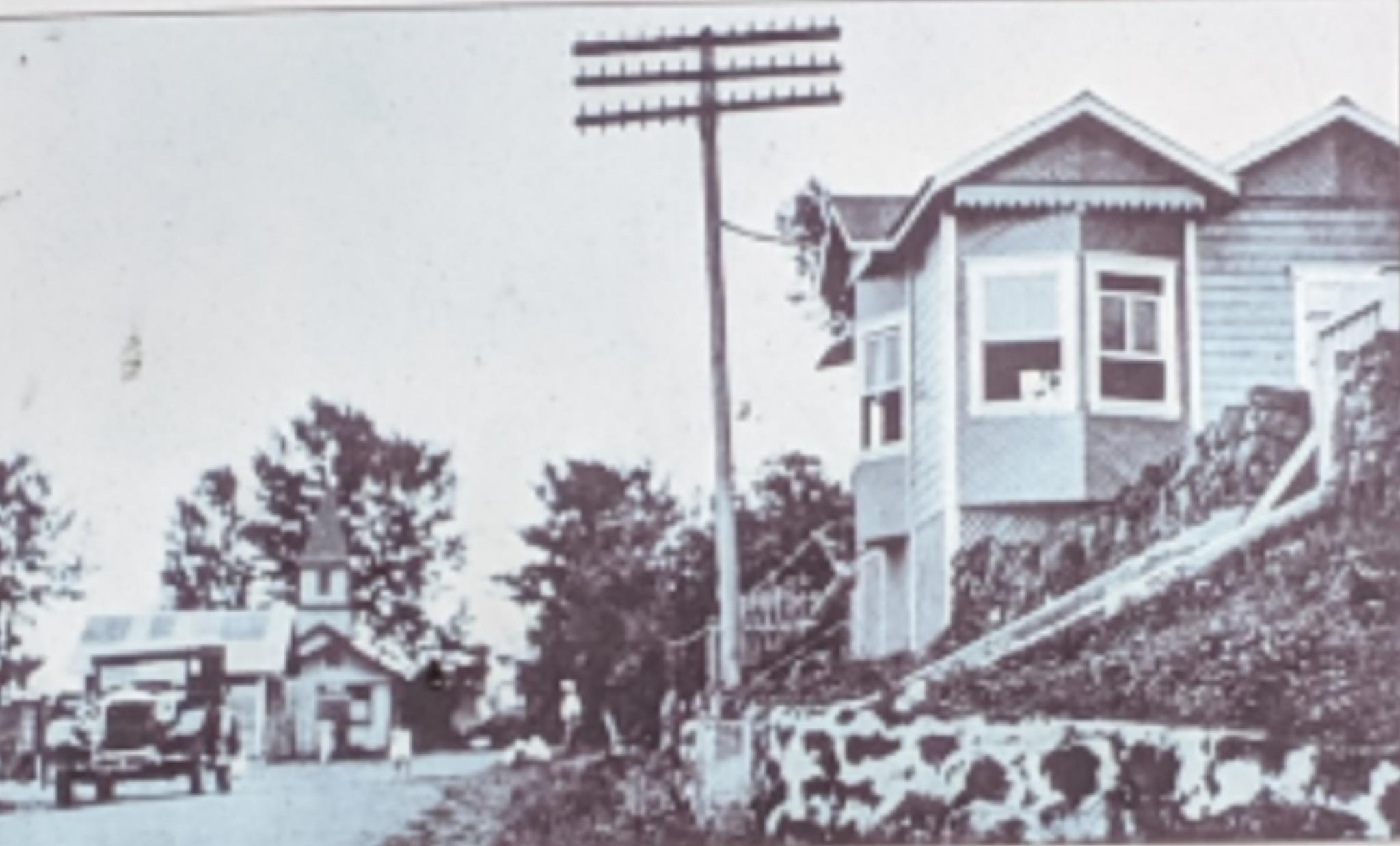 Holualoa Telephone Central Office - 1920s (Ueda)