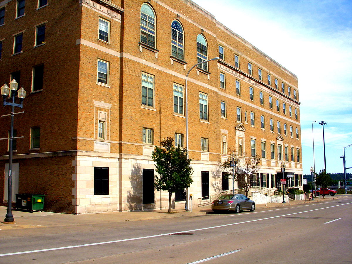 YWCA Building in downtown Peoria, Illinois