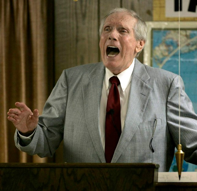 Fred Phelps, founder of Westboro Baptist Church